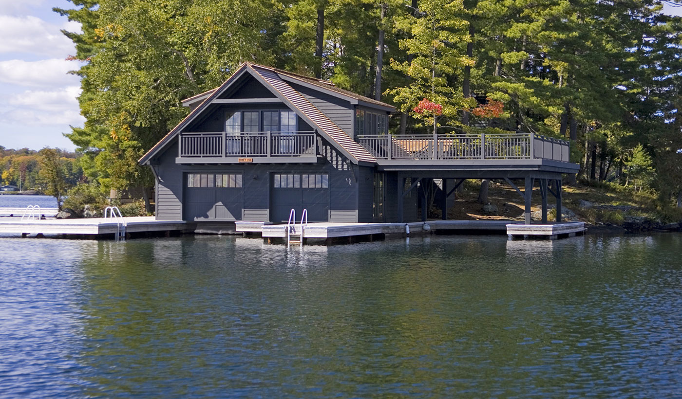 Michael Preston Design Muskoka Boathouse 1