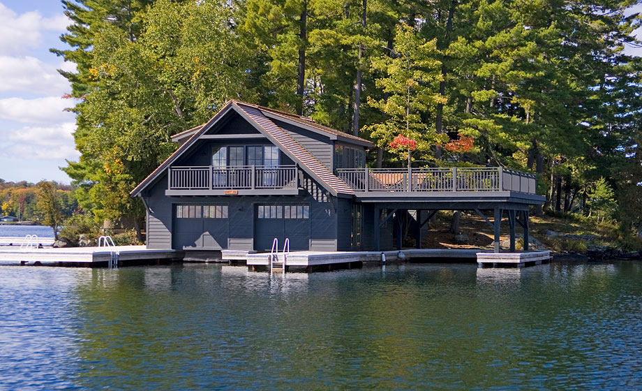 Muskoka Boathouse 1 Michael Preston Design