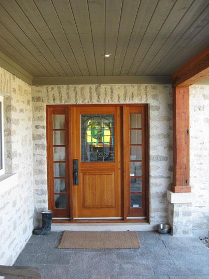 Michael Preston Design - Caledon Residence entry
