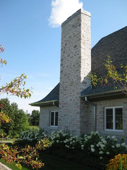 Michael Preston Design - Caledon Residence side exterior
