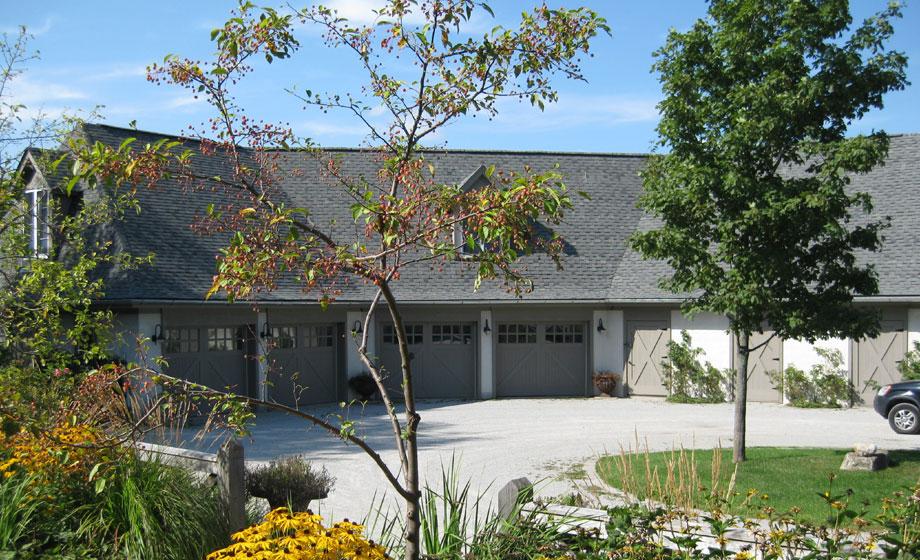 Michael Preston Design - Caledon Residence front exterior