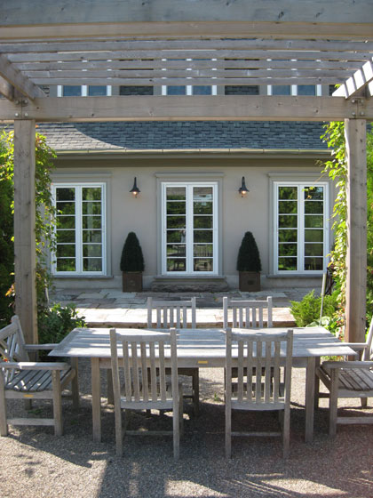Michael Preston Design - Caledon Residence porch