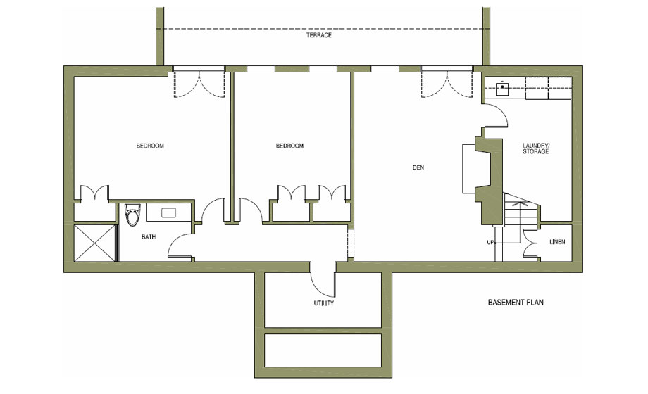 Ivy Cottage plans