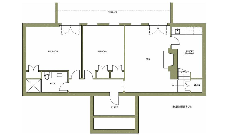 Ivy Cottage plans