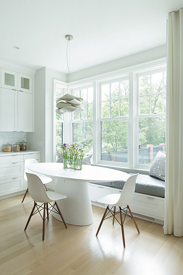 Leaside Residence - Kitchen Nook