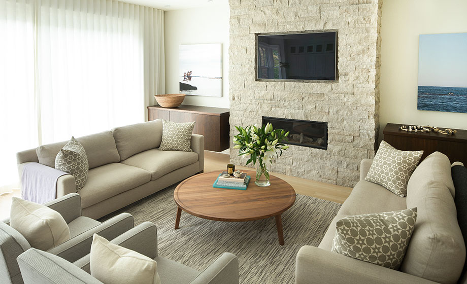 Leaside Residence - Living Room