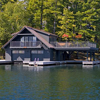 Muskoka Boathouse 1