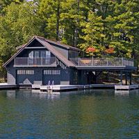 Muskoka Boathouse 1